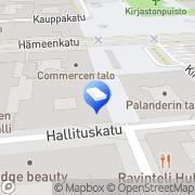 Kartta YH-Yhtymä Länsi Oy Tampere, Suomi