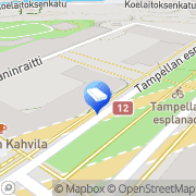 Kartta Asunto Oy Tampereen Esplanadi Tampere, Suomi