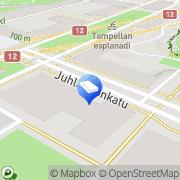 Kartta Kiinteistö Oy Willa Viola Tampere, Suomi