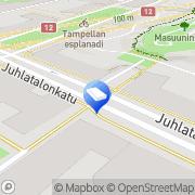 Kartta Asunto Oy Tampereen Pellavankulma Tampere, Suomi