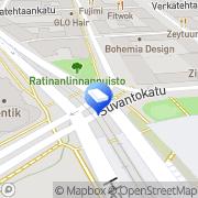 Kartta Tampereen OK-Asunnot Tampere, Suomi