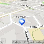 Kartta Essel Design Tampere, Suomi