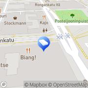 Kartta Asianajotoimisto Lehtinen, Sinivaara &  Syrjänen Oy Tampere, Suomi