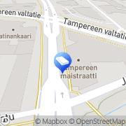 Kartta Luoston Lepola Oy Tampere, Suomi