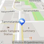 Kartta Asunto Oy Tammelankatu 1 Tampere, Suomi