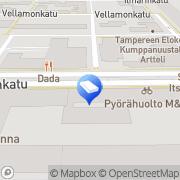 Kartta Tre-Trans Ky Tampere, Suomi
