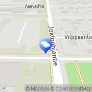 Kartta Vähittäiskaupan Tilipalvelu VTP Oy Tampere, Suomi