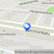 Kartta Asuste-Pesu Tampere, Suomi