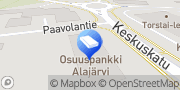 Kartta Järviseudun OP-Kiinteistökeskus Oy Alajärvi, Suomi