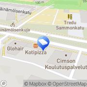 Kartta Asunto Oy Haavistonpuisto Tampere, Suomi