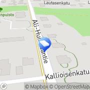 Kartta LOG-Asennus Ky Tampere, Suomi
