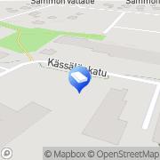 Kartta Valo-Forum Oy Tampere, Suomi