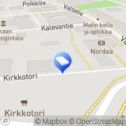 Kartta Akaan Ajokoulutuskeskus Toijala, Suomi