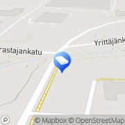 Kartta Tamfelt Kiinteistöt Oy Tampere, Suomi