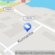 Kartta Pohjolan liikennekoulu Pello, Suomi