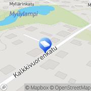 Kartta ARK Skog J Lohja, Suomi