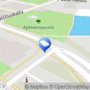 Kartta Asianajotoimisto Ari Sallila Tornio, Suomi