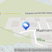 Kartta NiPa Rakennus Oy Äkäslompolo, Suomi