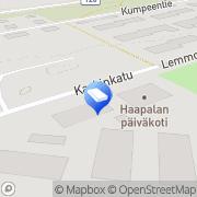 Kartta Karkkilan kaupunki Haapalan päiväkoti Karkkila, Suomi