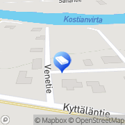 Kartta K. Syrjä Ky Pälkäne, Suomi