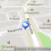 Kartta Asunto Oy Oriveden Paununkulma Orivesi, Suomi