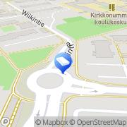 Kartta URM-Saneeraus Oy Kirkkonummi, Suomi