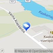 Kartta Tornion kaupunki Kaakamon neuvola Kaakamo, Suomi