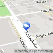 Kartta Hämeenlinnan Maalaus ja Mattotyö Oy Hämeenlinna, Suomi