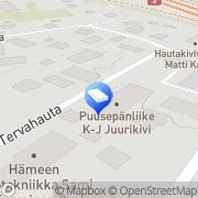 Kartta Rakennusliike Janakkalan Talonrakennus Oy Hämeenlinna, Suomi