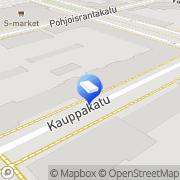 Kartta Kiinteistönvälitys Kemin Kiinteistöville Oy Kemi, Suomi