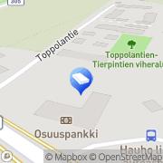 Kartta Arafinn Oy Hauho, Suomi