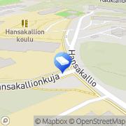 Kartta Espoon kaupunki Kauklahden päiväkoti Espoo, Suomi