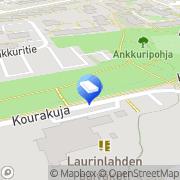 Kartta Espoon kaupunki Laurinlahden päiväkoti Espoo, Suomi