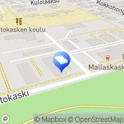 Kartta Espoon kaupunki Kaskipihan päiväkoti Espoo, Suomi