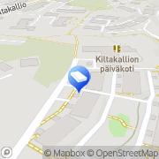 Kartta Espoon kaupunki Kiltakallion lastentalo Espoo, Suomi