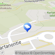 Kartta Espoon kaupunki Yläkartanon päiväkoti Espoo, Suomi