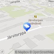 Kartta Espoon kaupunki Järvitorpan päiväkoti Espoo, Suomi