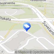 Kartta OXAIN Espoo, Suomi