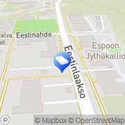 Kartta Espoon kaupunki Eestinlaakson päiväkoti Espoo, Suomi