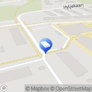 Kartta Espoon kaupunki Iivisniemen päiväkoti Espoo, Suomi