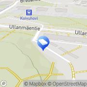 Kartta Espoon kaupunki Koivuhovin päiväkoti Espoo, Suomi