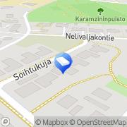 Kartta Espoon Sisärakenne Oy Espoo, Suomi