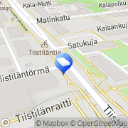 Kartta Espoon kaupunki Distby daghem Espoo, Suomi