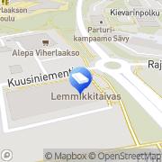 Kartta Espoon kaupunki Viherlaakson neuvola Espoo, Suomi