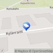 Kartta T-Invest Oy Riihimäki, Suomi