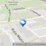 Kartta Hybridi Networks Espoo, Suomi