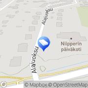 Kartta Espoon kaupunki Niipperin päiväkoti Espoo, Suomi