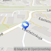 Kartta Espoon kaupunki Lansantien päiväkoti Espoo, Suomi