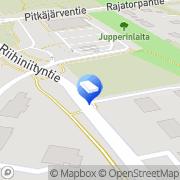 Kartta Mankkaan Isännöinti Oy Espoo, Suomi