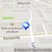 Kartta Espoon kaupunki Koivumankkaan päiväkoti Espoo, Suomi